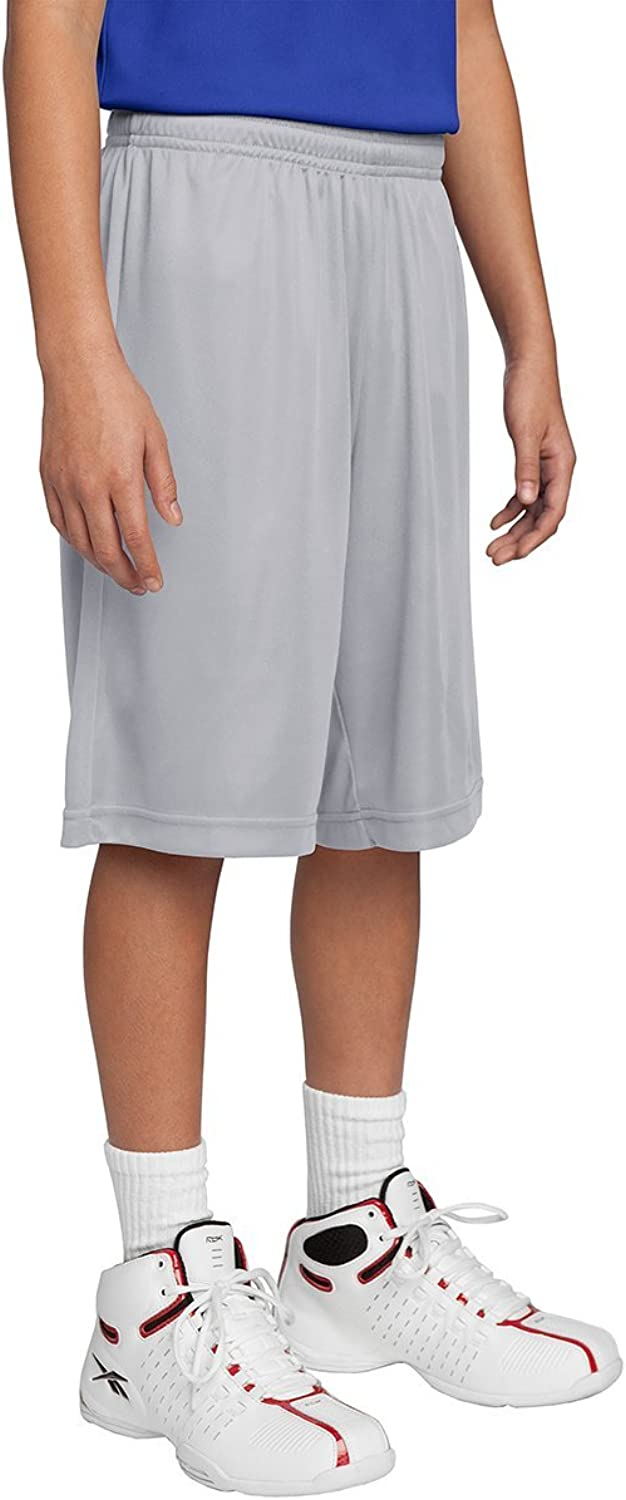 DriWick Youth Sport Performance Moisture Wicking Athletic Shorts
