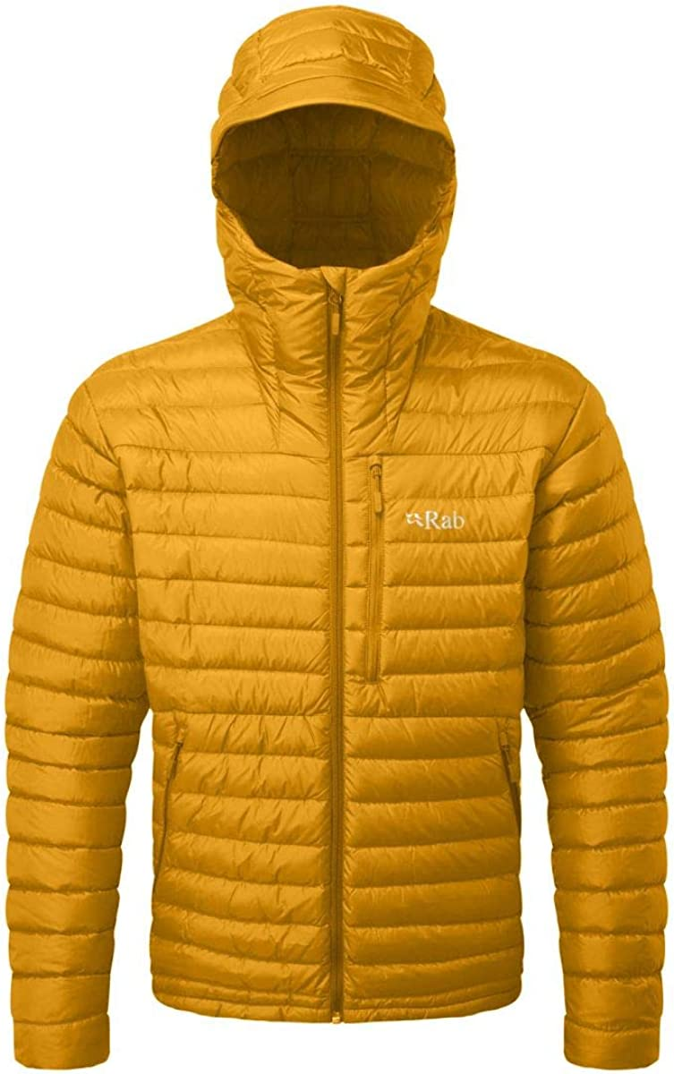 RAB Microlight Alpine Down Jacket - Men's Dijon/Dijon, S