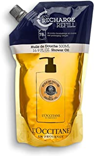 L'Occitane Softening Shea Body Shower Oil Refill , 16.9 Fl Oz