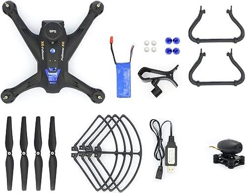 DEjasnyfall Global Drone X183 Professionelle H  halten GPS Quadrocopter mit 720P Kamera HD RTF FPV GPS Hubschrauber RC Quadcopter (Schwarz