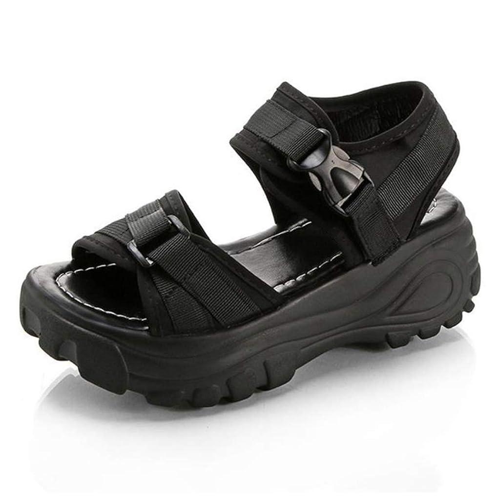 注目すべき極端なアカデミック[ODFMCE] サンダル レディース 厚底 スポーツサンダル ファッション レディースシューズ 軽量 歩きやすい
