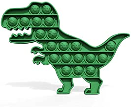 Kine Dinosaurus Pop Bubble Sensory Toy, Fidget Simple Dimple Toy, autisme speelgoed, speciale noodzaak om stress te vermin...