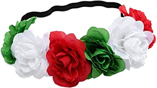 Love Sweety Rose Flower Headband Floral Crown Mexican Hair Wreath