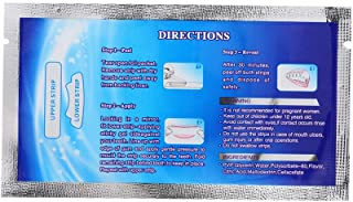Baugger Outil Blanchiment des Dents 6Pcs Blanchiment des Dents Lingettes Brosses Dents Ups Lingettes Nettoyer Outil Blanchiment des Dents pour Nettoyage Profondeur Orale