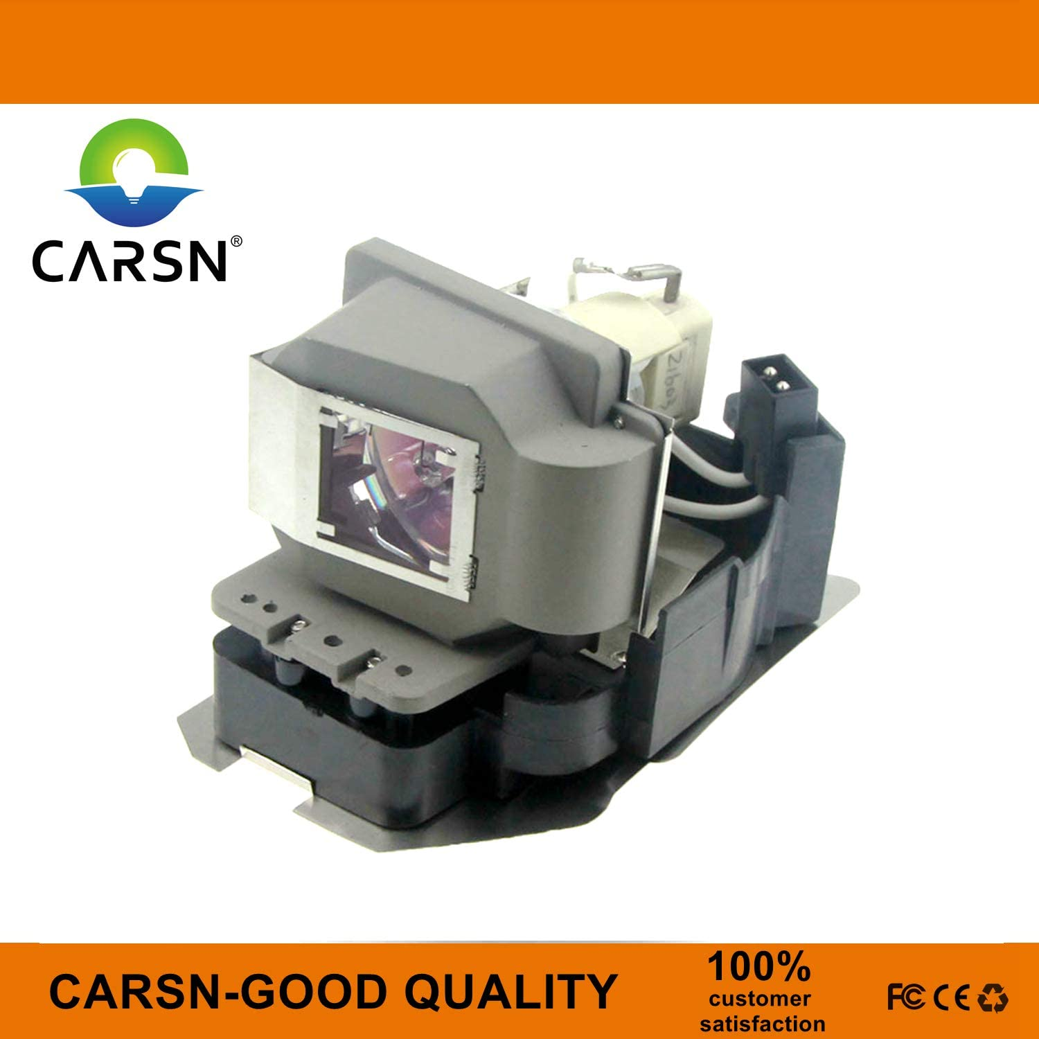 VLT-XD510LP Replacement Projector Lamp for Mitsubishi SD510U WD510U XD510 XD510U-G XD510U EX51U WD500U-ST WD500ST, Lamp with Housing by CARSN