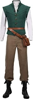 Details about  /Tangled-Flynn Rider Cosplay Costume Vest Shirt Outfit Carnival Halloween Suit