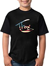 Youth Tshirt Tanner Fox Funny Quick-Dring T-Shirts for Girl&Boy