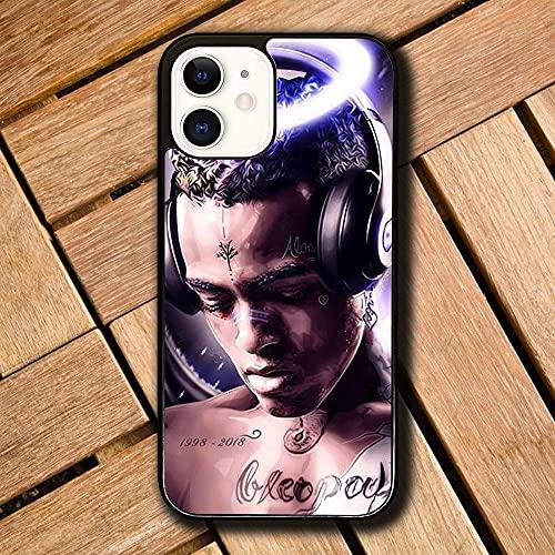 WSSBK Cover iPhone 6 Plus/Cover iPhone 6S Plus Custodia Morbida per Telefono in Silicone Nero XX-XTE-EN-Tac-IO-N R-AP-per S-010