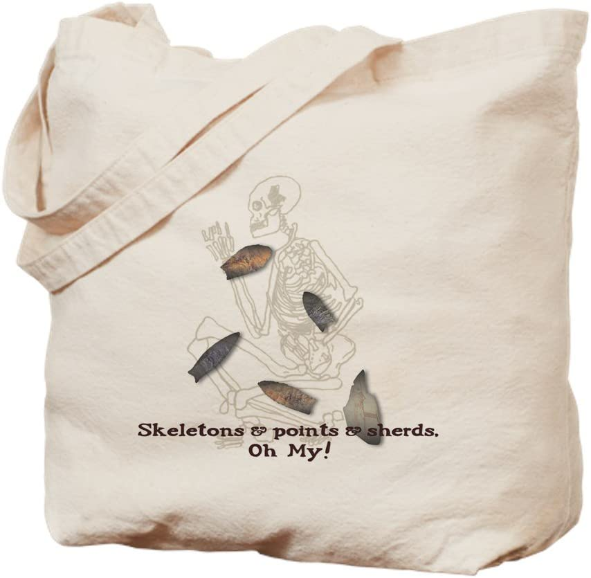 CafePress Jacksonville Mall National products Skeletons Points Sherds Tote To Natural Bag Canvas