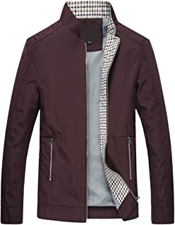 YFFUSHI ジャケット メンズ スタジャン 全3色 無地 黒 M-6XL 長袖 カジュアル ファッション