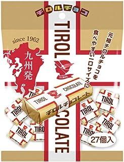 九州限定 チロルチョコ ミルクヌガー 一口サイズ 一袋  27個入り