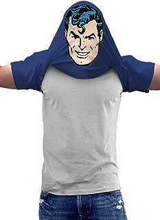 Batman, Flash, Superman Pullover Flip DC Comics T Shirt & Stickers