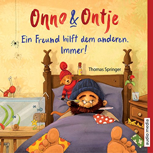Ein Freund hilft dem anderen. Immer!     Onno und Ontje 2              By:                                                                                                                                 Thomas Springer                               Narrated by:                                                                                                                                 Tetje Mierendorf                      Length: 18 mins     Not rated yet     Overall 0.0