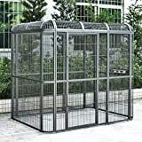 Seny Huge Walk-in Bird Aviary Cage Parrot Macaw Reptile Dog 79Hx86Wx62D Flight Cage