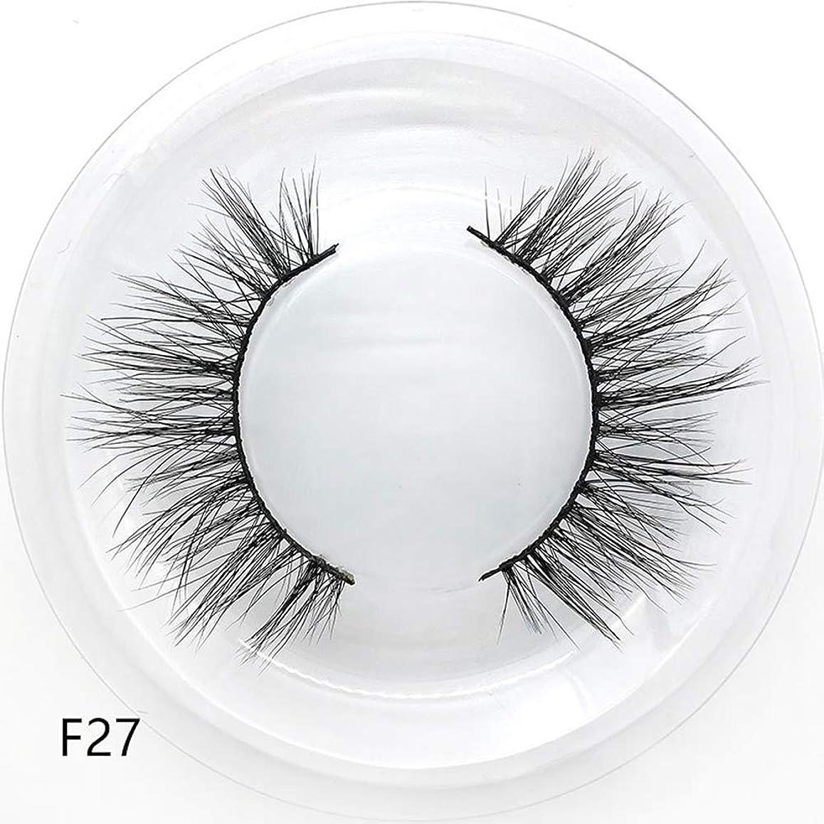 湿度対話積極的に1ペア3dソフトフェイクミンク髪つけまつげクリスクロスウィスピーふわふわまつげエクステアイメイクツール