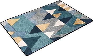 JIAJUAN Rectangle Doormat Absorbent Non-Slip Welcome Entrance Way Front Door Rug Mat, 3 Styles, 14 Sizes,Customizable (Col...