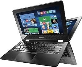 2016 Lenovo Premium Built High Performance 15.6-inch 2 in 1 FHD Laptop (Intel Core Skylake i7-6500U CPU, 8GB RAM, 256GB SSD, Webcam, WiFi, HDMI, Dolby Audio, Windows 10 ) - Black