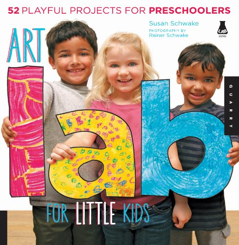 Art Lab for Little Kids (Lab Series) (English Edition)