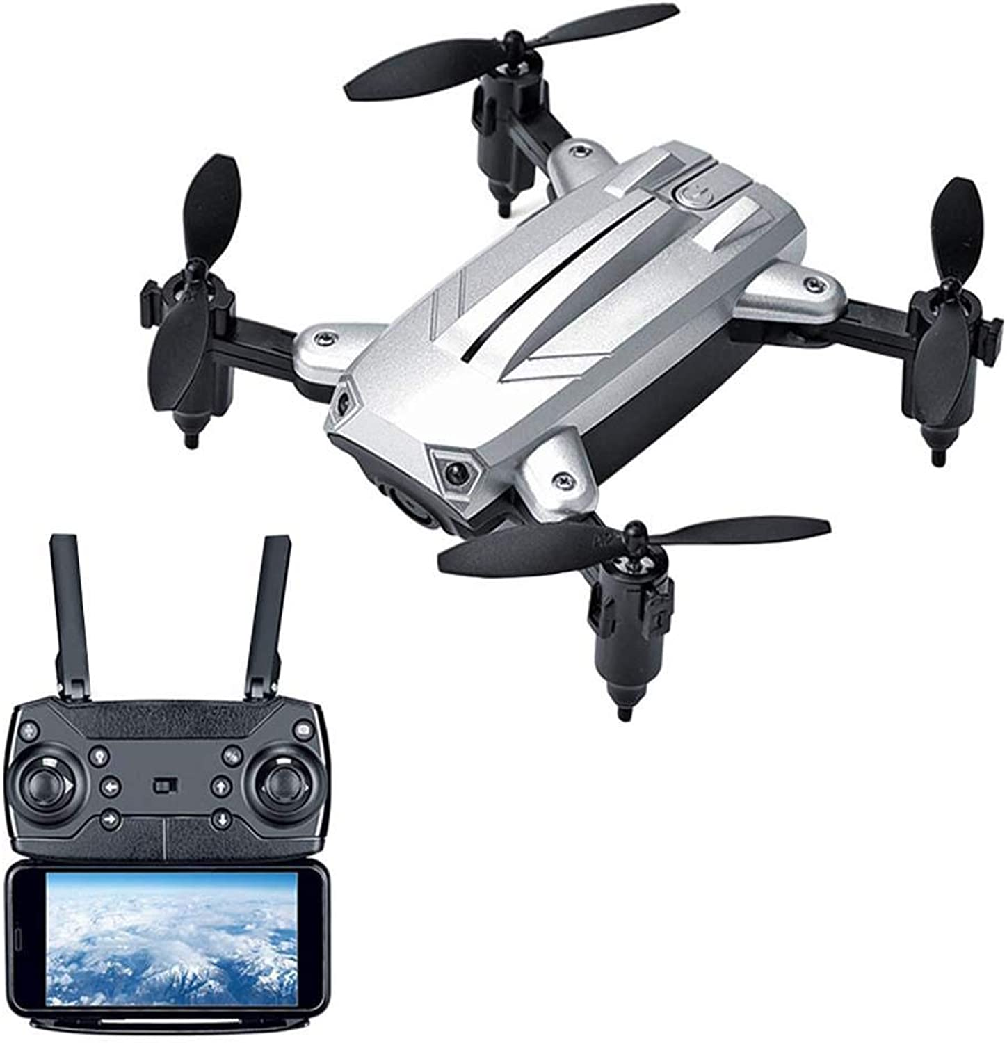 KY301 Altitude Hold Mini Folding Quadcopter WiFi RealTime Aerial Drone Remote Control Aircraft
