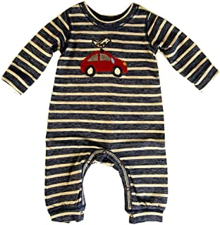Cute Bird and Car Romper