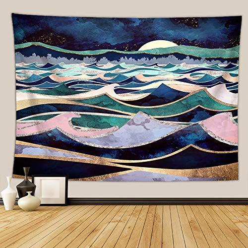 Sunset Mountain Series Toalla de playa Decoración del hogar Tapiz de fondo Paño Colgante de pared Tapiz Manta Paño colgante A22 180X230CM