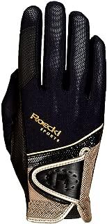 Roeckl Madrid Unisex Gloves 9 Black/Gold