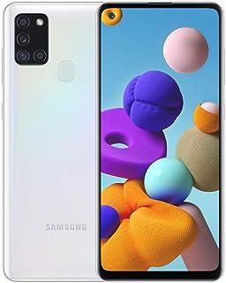 Samsung Galaxy A21s Dual SIM Mobile, 6.5 Inches, 64 GB, 4 GB RAM, 4G LTE - White