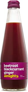 Drink Almighty Organic Juice, Beetroot Blackcurrant Ginger, 300ml (Pack of 12)