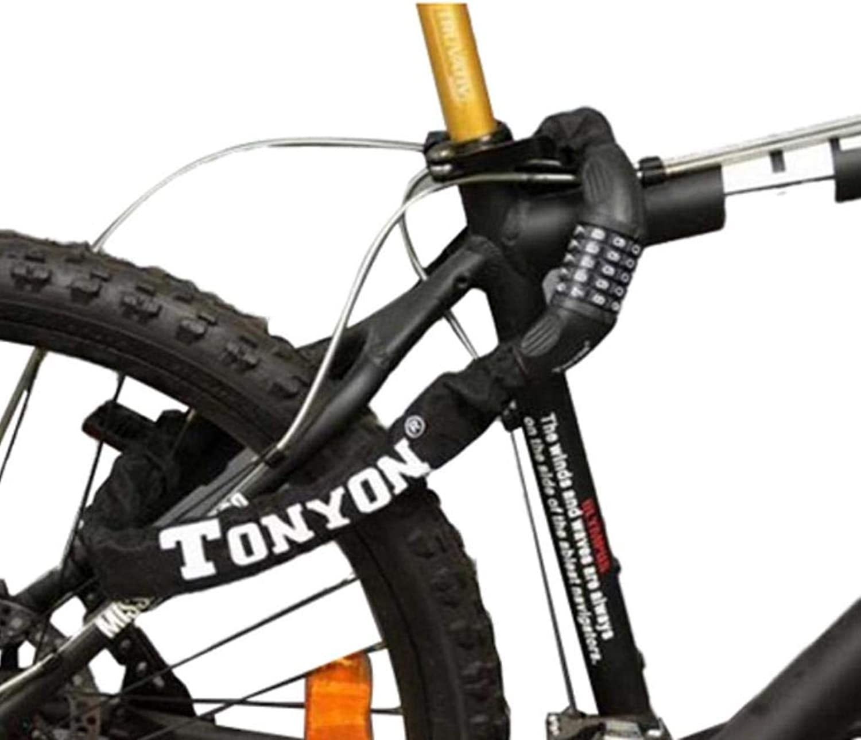 TonYon TY732 Mountain Bike Bicycle Steel 5 Digital Code Lock