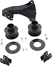 Pro Comp Suspension 62666 Level Lift Coil Spring Spacer Front Lift Height 2.5 Inch Front Shock Relocation Brackets Track Bar Drop Level Lift Coil Spring Spacer