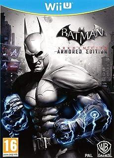 Warner Bros Batman: Arkham City - Armored Edition Básico Wii U vídeo - Juego (Wii U, Acción / Aventura, T (Teen), Soporte físico)