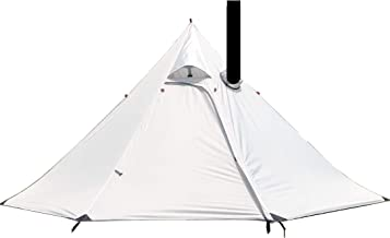 Preself 3 Person Lightweight Tipi Tent Hight Wind...
