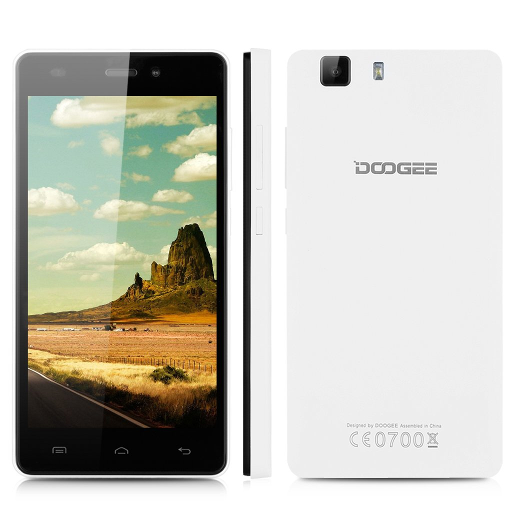 Doogee X5 - Smartphone Libre 3G Android 5.1 (Quad Core, 5.0