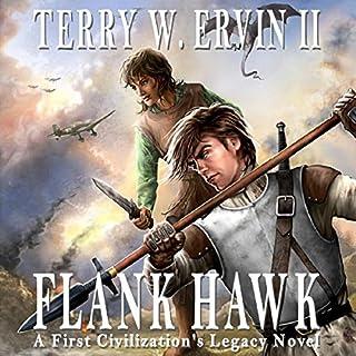 Flank Hawk audiobook cover art