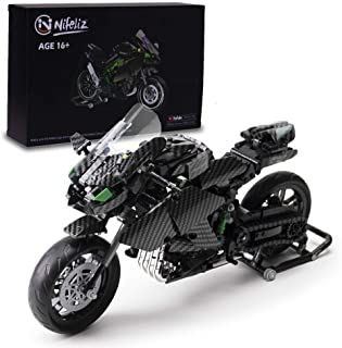 Nifeliz H3R Super Motorcycle MOC Building Blocks kit - Exclusive Collectible Model, Motorcycle Model Set and Assembly Toy for Teens and Adult,New 2021 (838Pcs)