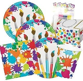 Best paint splatter party supplies Reviews