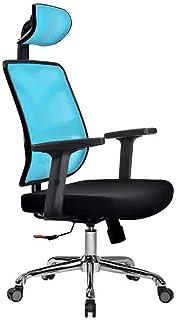 Desk Chairs DBL Silla de Oficina, Escritorio de la computadora y Dormitorio Silla ergonómica 3D Gruesa Almohadilla giratoria reclinable Silla Estudio Las sillas de Escritorio (Color : D)