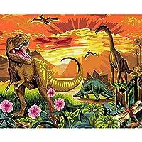 AAAA ジュラシックパーク恐竜 , パズル1000ピース ジグソーパズル , 内装塗装に使用75*50CM
