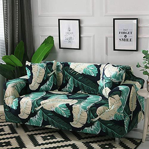 WXQY Funda de sofá elástica de algodón elástica con Todo Incluido Funda de sofá de Esquina Funda de Muebles de Sala de Estar Funda de sofá Funda de sofá Toalla A14 1 Plaza