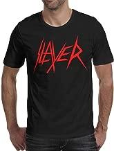 Short-Sleeve Cotton Slayer-Logo-Hell-Awaits- T-Shirt for Men