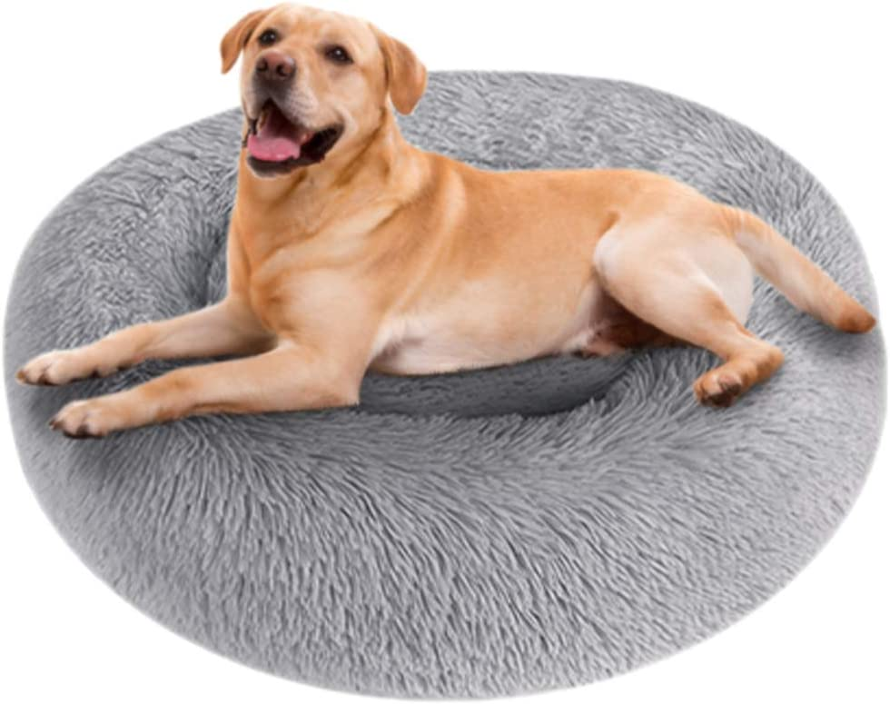 NIBESSER Dog Calming Bed Plush Special price Cuddl Round Donut Mail order cheap