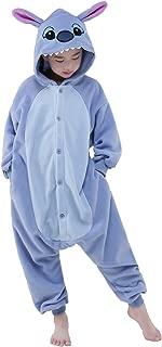 NEWCOSPLAY Halloween Children Blue Stitch Unisex Pajamas Costume Cosplay