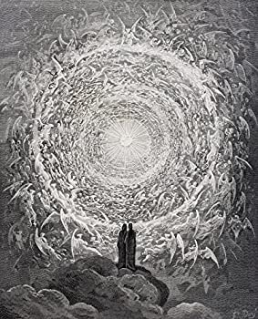 Posterazzi Paradiso By Dante Alighieri Canto Xxxi Lines 1 To 3 Poster Print by by Gustave Dore 1832-1883 French Artist And Illustrator  8 x 10