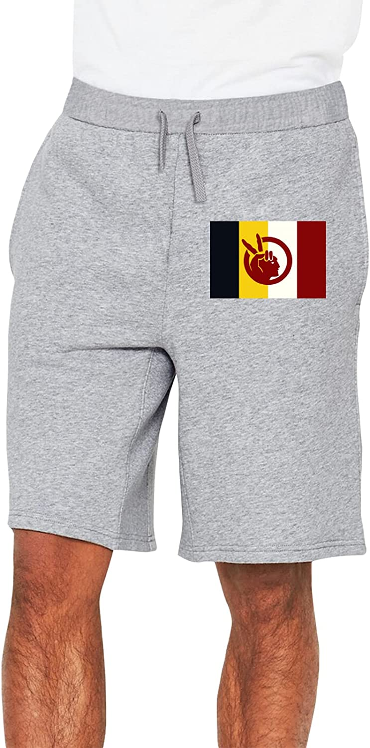 List price Flag of The American 67% OFF fixed price Indian Movement Sh Flat Men's Front Running