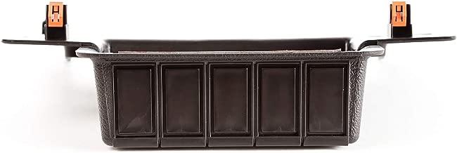 Rugged Ridge 17235.54 Lower Console Switch Panel, 11-17 Jeep Wrangler JK/JKU