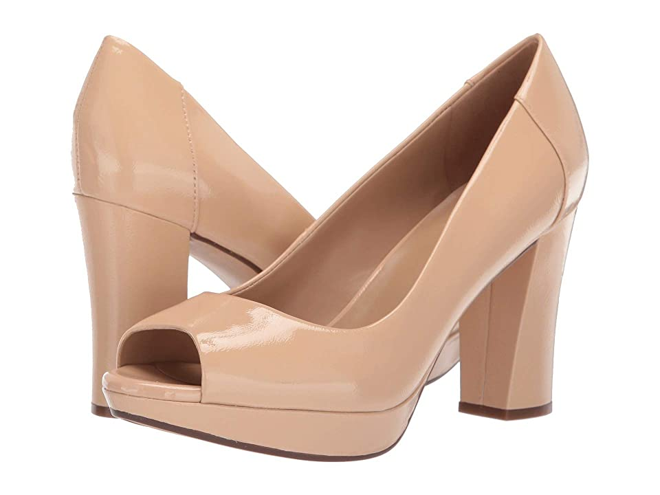 Naturalizer Amie (Soft Nude Patent Leather) Women