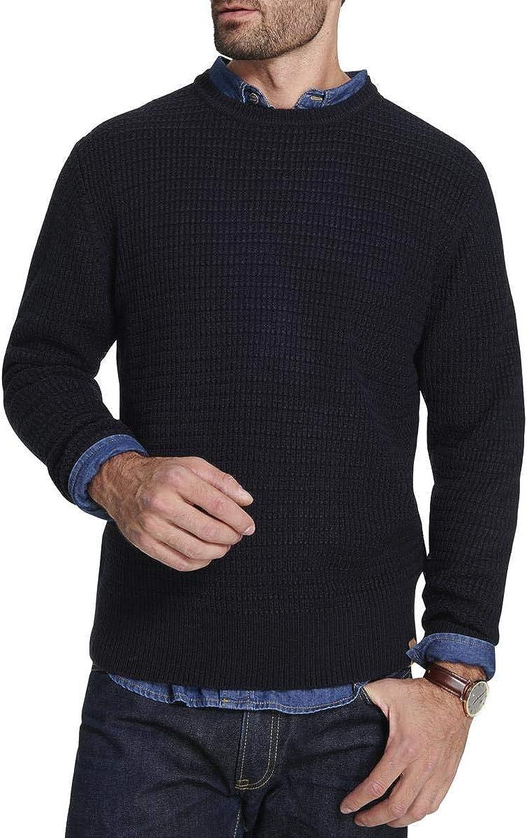 Weatherproof Mens Vintage Textured Pullover Sweater