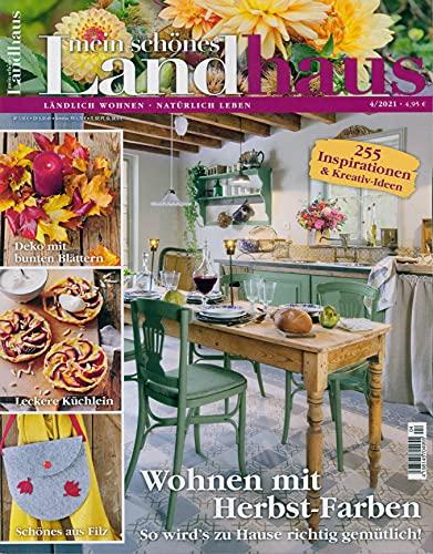 """Mein schönes Landhaus 4/2021 \""""Wohnen mit Herbst-Farben\"""""""