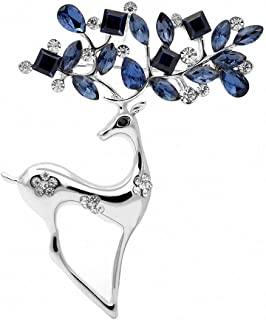 Best silver reindeer brooch Reviews