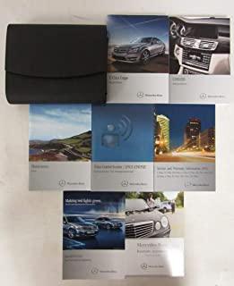2013 MERCEDES-BENZ C-CLASS COUPE OWNER'S MANUAL FOR ALL C250 C300 C350 AND C63 AMG MODELS WITH COMAND
